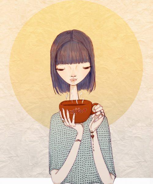 drinking coffee by Renia Metallinou shutterstock-min